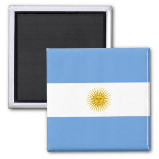 Aimant de drapeau de l'Argentine