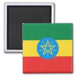 Aimant de drapeau de l'Ethiopie