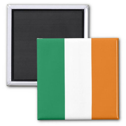 Aimant de drapeau de l'Irlande