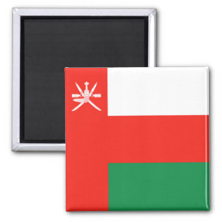 Aimant de drapeau de l'Oman