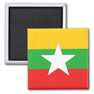 Aimant de drapeau de Myanmar