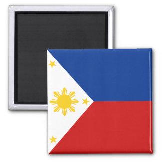 Aimant de drapeau de Philippines