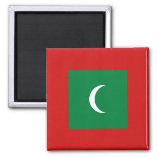 Aimant de drapeau des Maldives