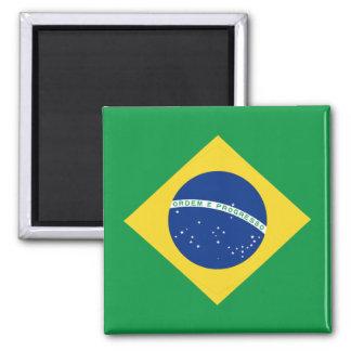 Aimant de drapeau du Brésil