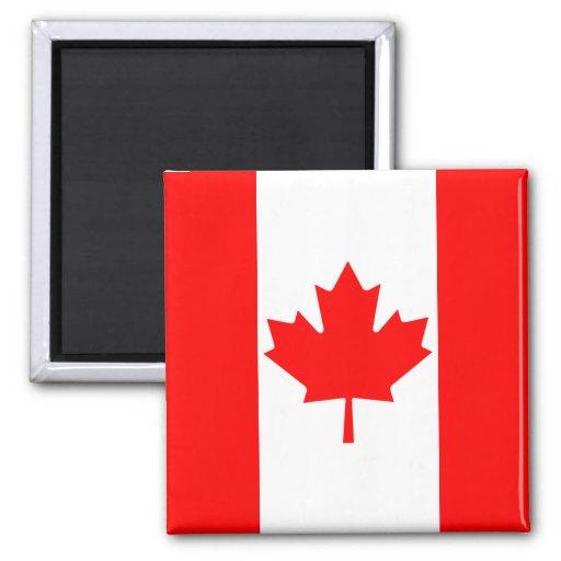 Aimant de drapeau du Canada