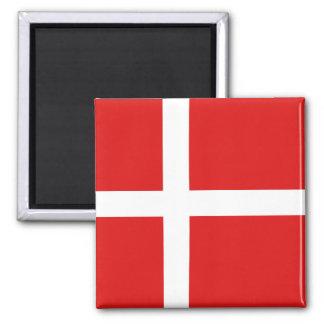 Aimant de drapeau du Danemark
