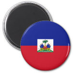 Aimant de drapeau du Haïti