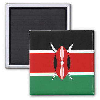 Aimant de drapeau du Kenya
