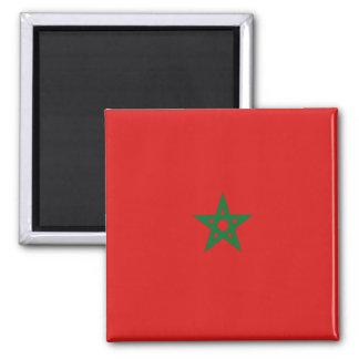 Aimant de drapeau du Maroc