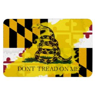 Aimant de drapeau du Maryland Gadsden Magnets