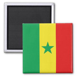 Aimant de drapeau du Sénégal