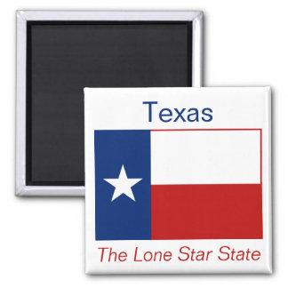 Aimant de drapeau du Texas