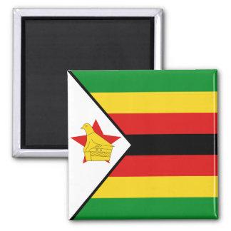 Aimant de drapeau du Zimbabwe