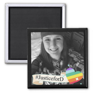 Aimant de #JusticeForD