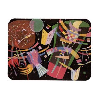 Aimant de la composition X en Kandinsky Magnets Rectangulaires