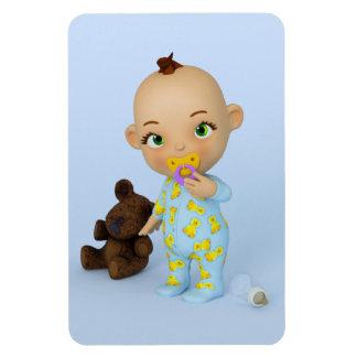 Aimant de la meilleure qualité de Flexi de bébé de Magnets Rectangulaire