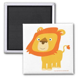 Aimant de lion de Cartoony