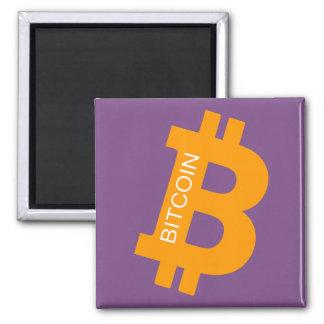 Aimant de logo de Bitcoin