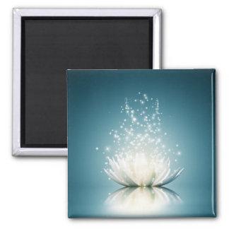 Aimant de magie de Lotus blanc