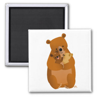 Aimant de maman Bear
