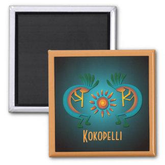 Aimant de modèle de Kokopelli Sun
