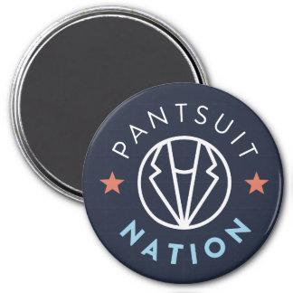 Aimant de nation de Pantsuit, marine