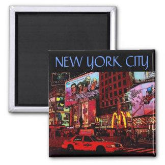 Aimant de New York (périodes carrées)