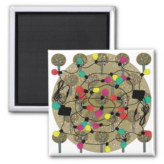 aimant de no l d 39 arbres de tissu d 39 ikea. Black Bedroom Furniture Sets. Home Design Ideas