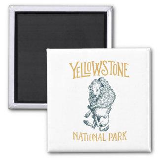 Aimant de parc national de Yellowstone