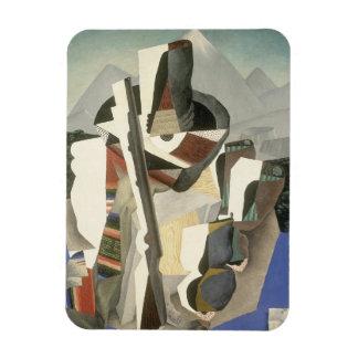 """Aimant de """"paysage du Zapata-style"""" de Rivera Magnets Rectangulaires"""