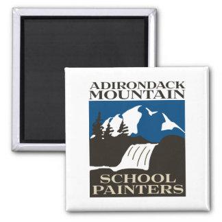Aimant de peintres d'école de montagne d'Adirondac