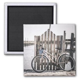 Aimant de photo de bicyclette