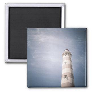 Aimant de photo de cieux bleus de phare