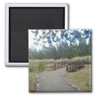 Aimant de photo de pont