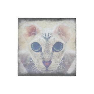 Aimant de pierre de marbre de chat de Levkoy