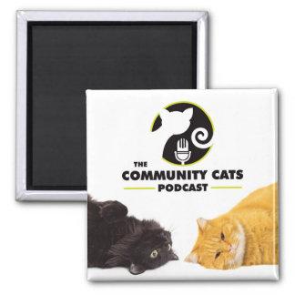 Aimant de Podcast de chats de la Communauté