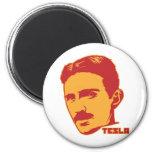 Aimant de portrait de Nikola Tesla