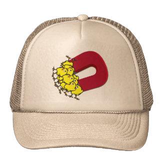Aimant de poussin casquettes
