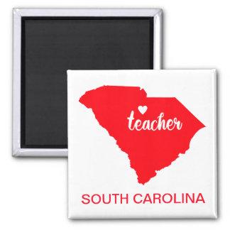 Aimant de professeur de la Caroline du Sud