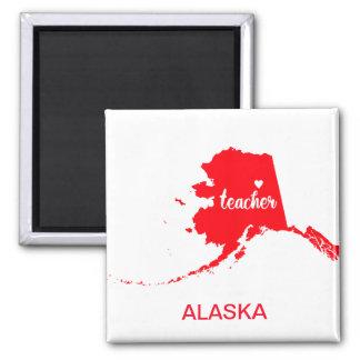 Aimant de professeur de l'Alaska