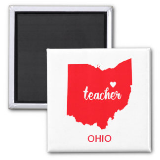 Aimant de professeur de l'Ohio