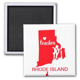 Aimant de professeur d'Île de Rhode