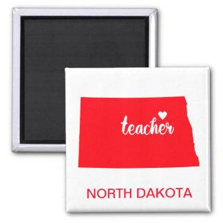 Aimant de professeur du Dakota du Nord
