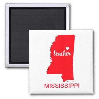 Aimant de professeur du Mississippi