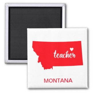 Aimant de professeur du Montana