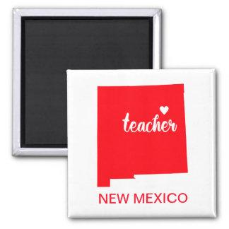 Aimant de professeur du Nouveau Mexique