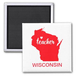 Aimant de professeur du Wisconsin