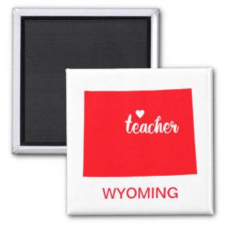 Aimant de professeur du Wyoming
