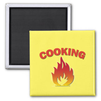 Aimant de rappel de cuisine de sécurité