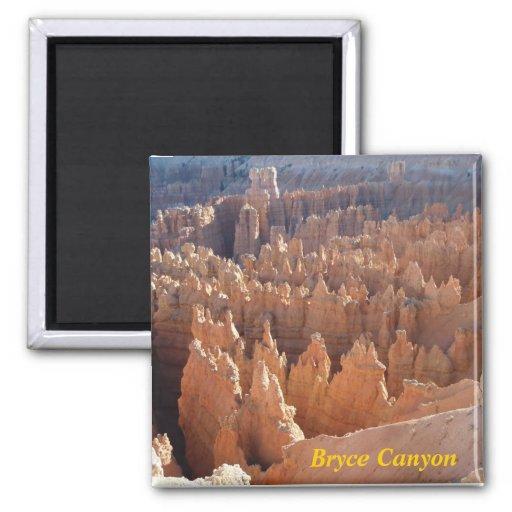 aimant de réfrigérateur de canyon de bryce